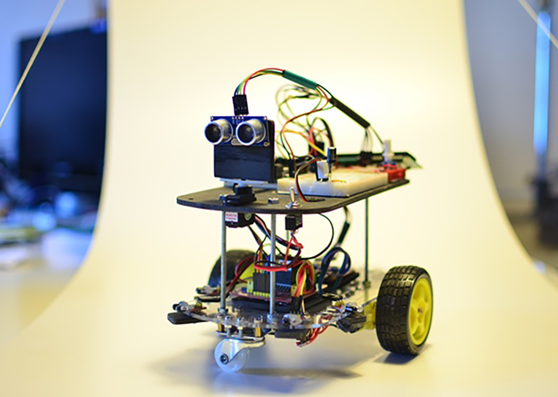 Robottar yvirtaka FabLab