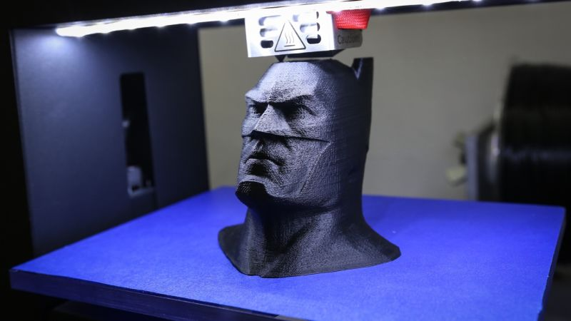 Næmingar 3D-printa superhetjur